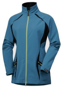 Damen Reitjacke wasserdichtes Shell - Stretch Türkis