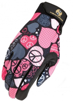 Reithandschuh Performance - Print Peace & Love