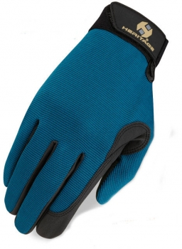 Reithandschuh Teal Performance Glove