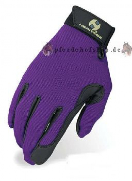 Reithandschuh Lila Performance Glove